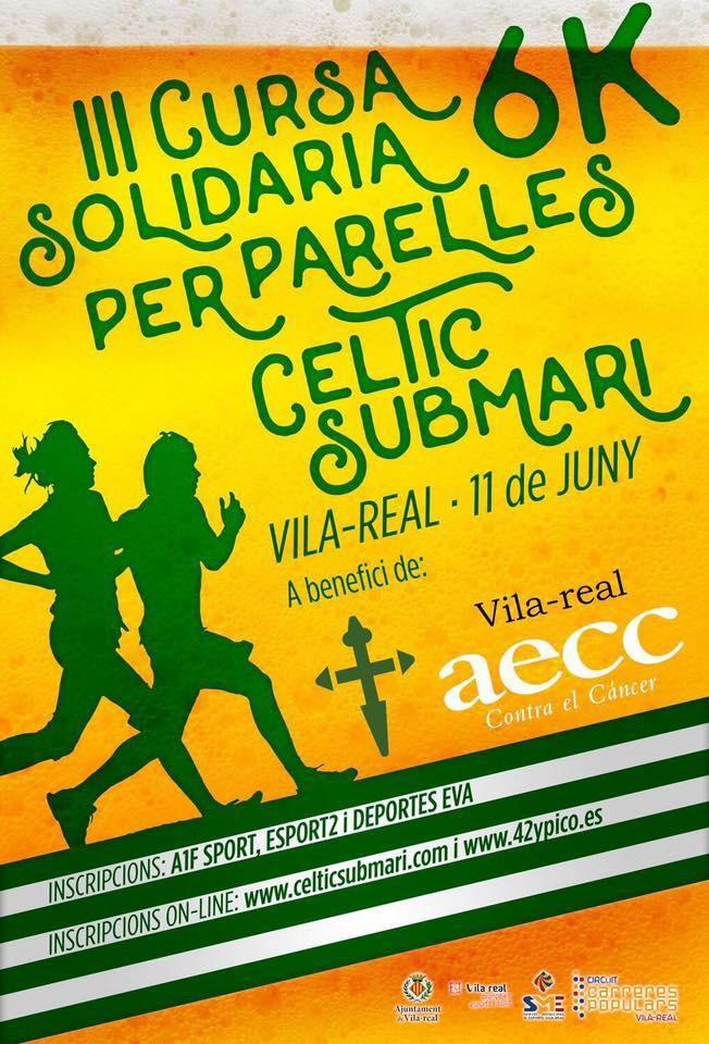 Cartell Cursa per parelles Celtic 2016